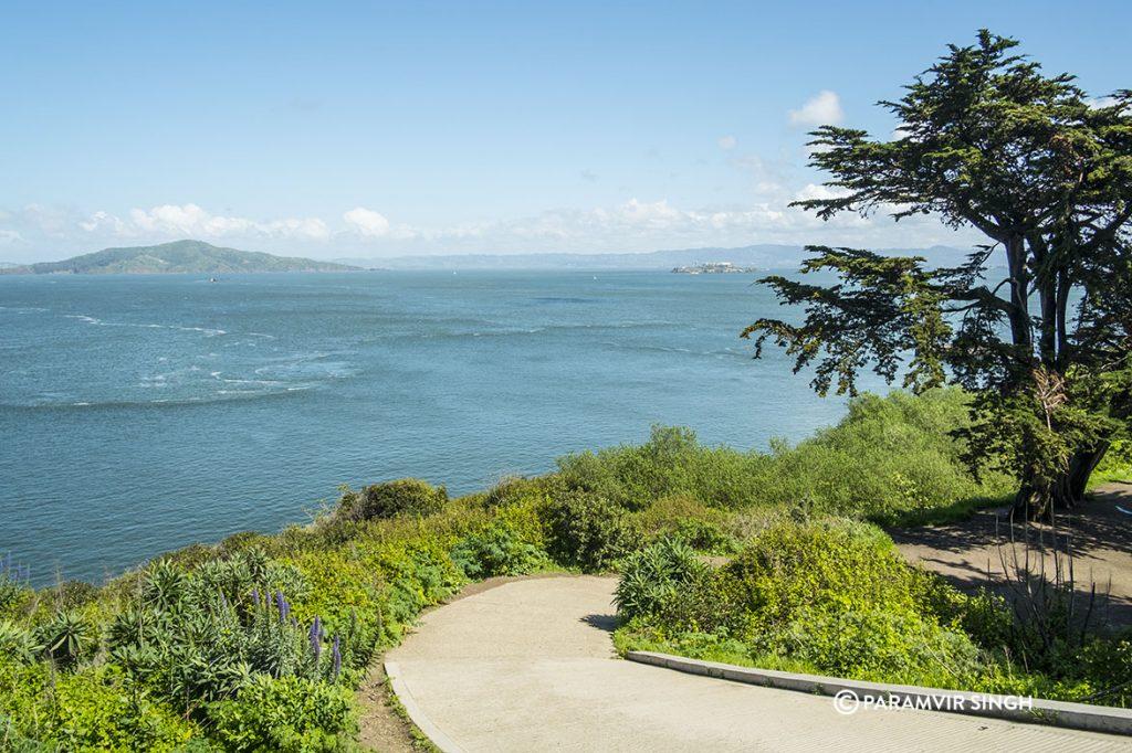 Golden Gate Bridge Park, San Francisco.