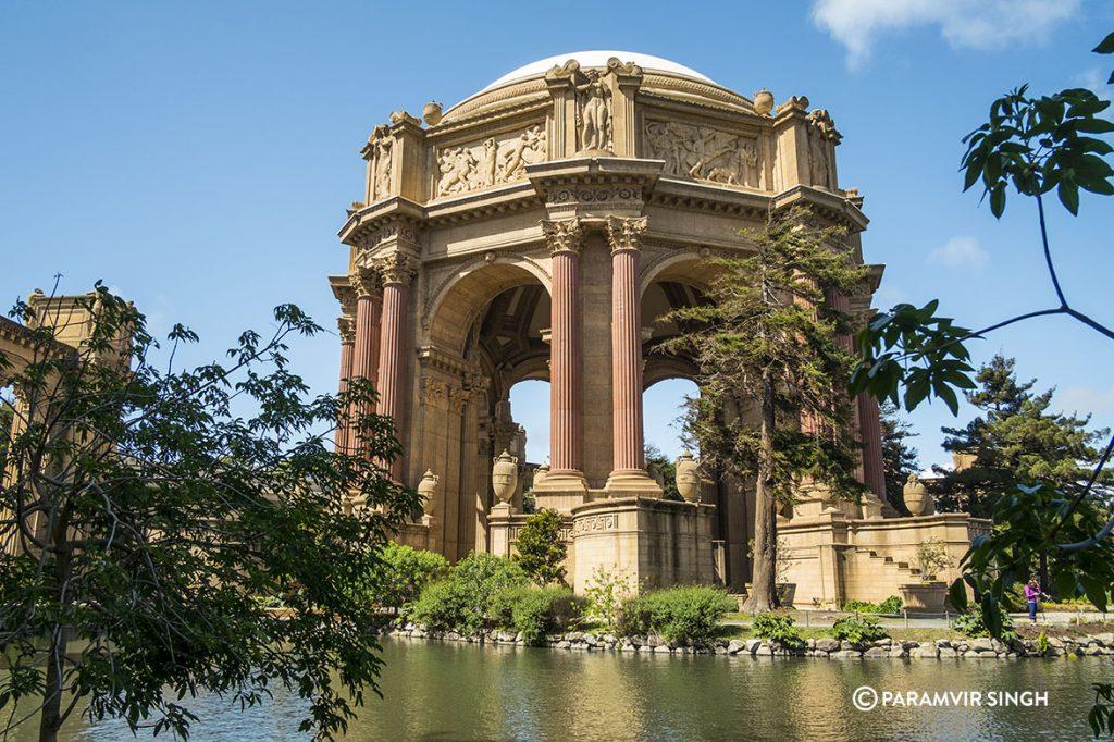 The Palace of Fine Arts, San Francisco