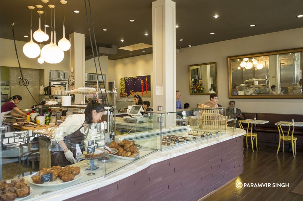 B Patisserie at Pacific heights, San Francisco.