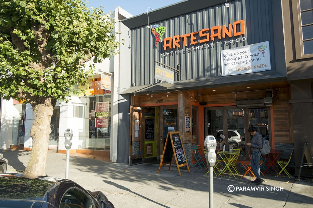Artesano, San Francisco.