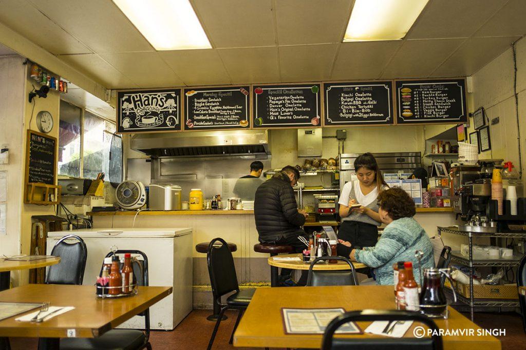 Breakfast at Han's, San Francisco