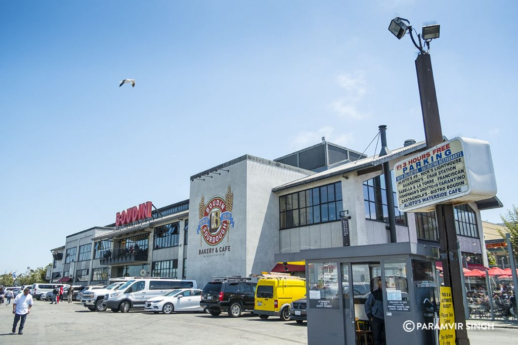 Boudin's bakery at Fisherman's Wharf, San Francisco