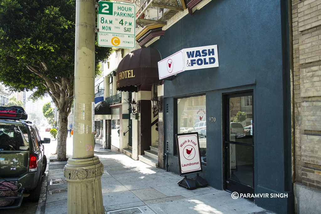 Wash And Fold, Sutter Street, San Francisco.