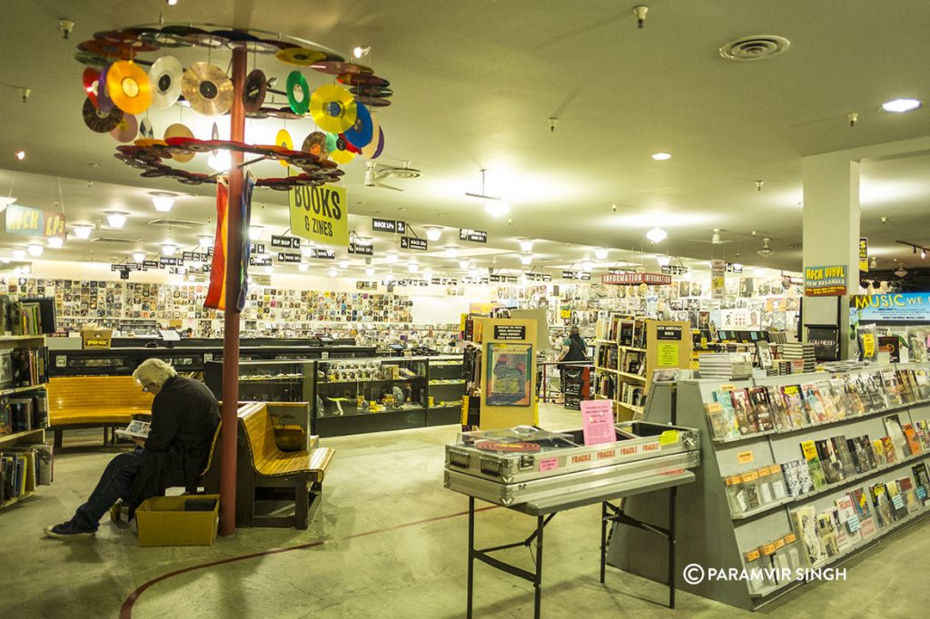 Amoeba Music at Haight Ashbury