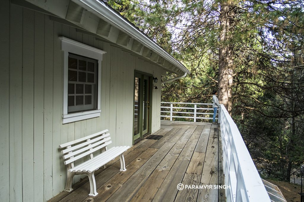 Narrow Gauge Inn Room Deck