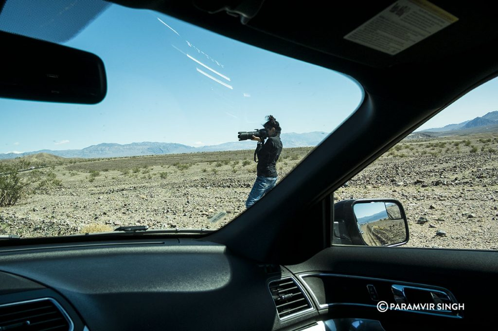 Photography inside the Death Valley National Park
