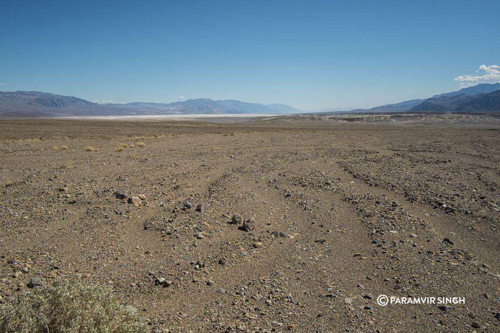 Martian soil at Death Valley National Park
