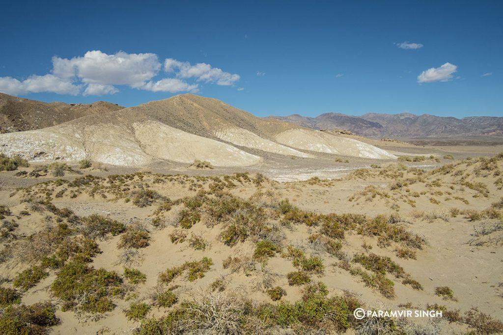 Dry Landscape of Death Valley Nationakl Park