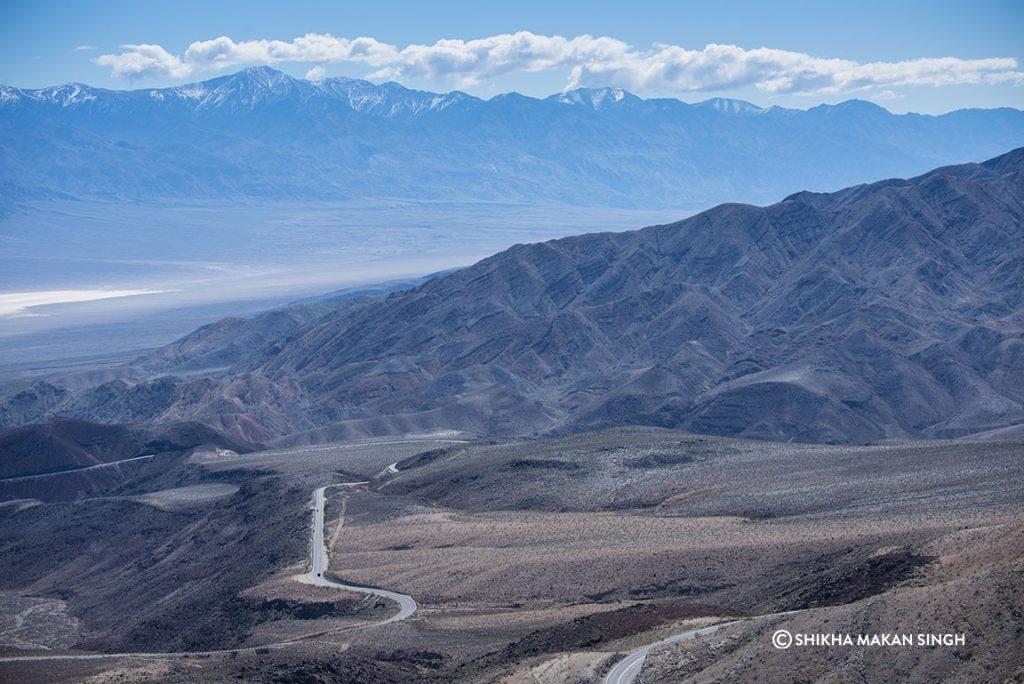 Death Valley National Park landscape.