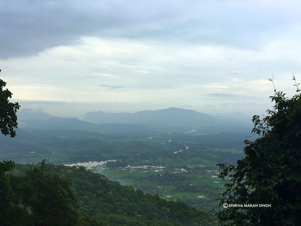 View from Tungareshwar Wildlife Sanctuary