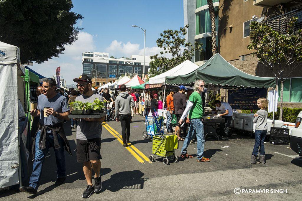 Farmer's Market at Ivar Avenue, Los Angeles
