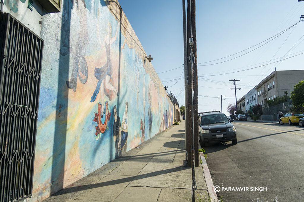 Graffiti in Los Angeles
