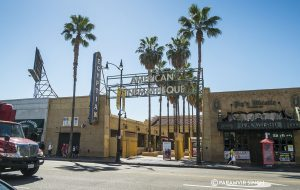 on Hollywood Boulevard Los Angeles