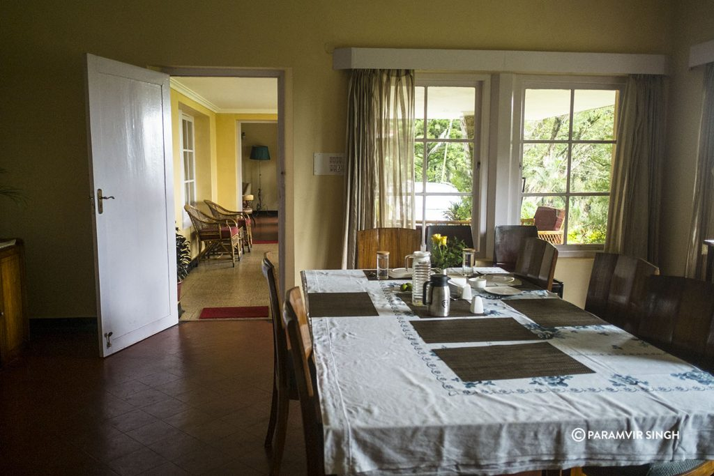 Dining Room at Chikmagalur