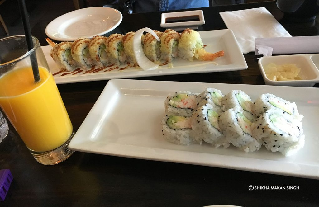 Sushi in Los Angeles