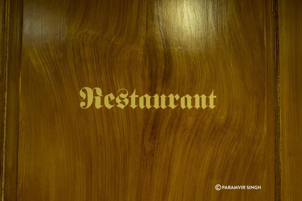 Restaurant at Guesthaus zum Kreuz.