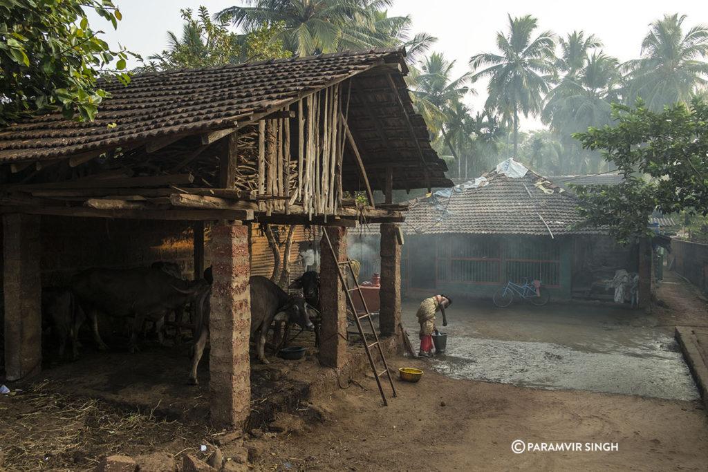 Woman in Malgund Village