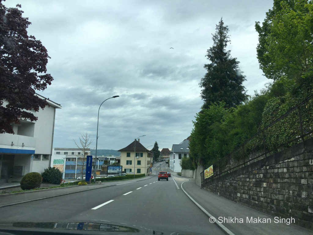 Drive to Safenwil from Lucerne