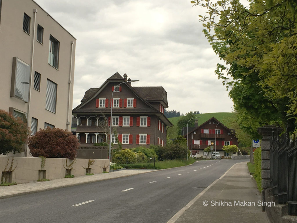 Houses in Lucerne...