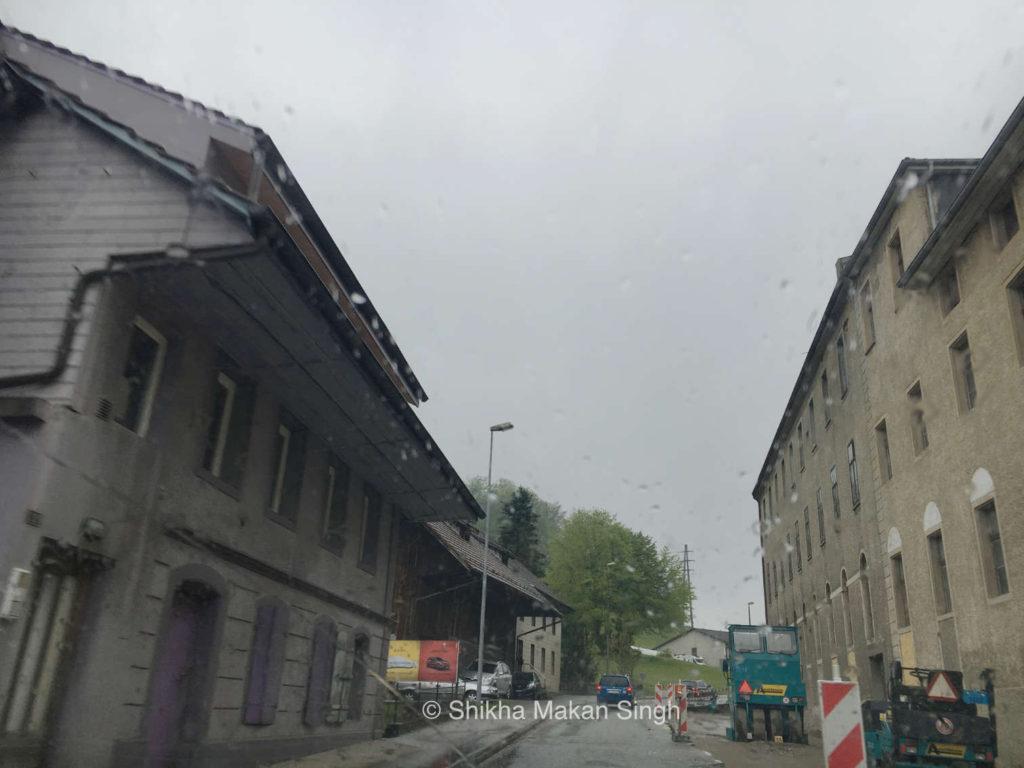 Leaving Safenwil