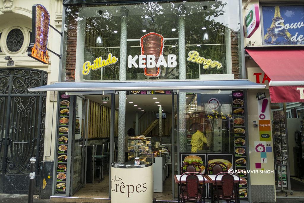 Kebabs in Paris