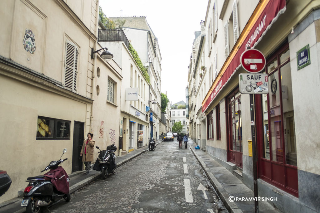Lanes of Paris