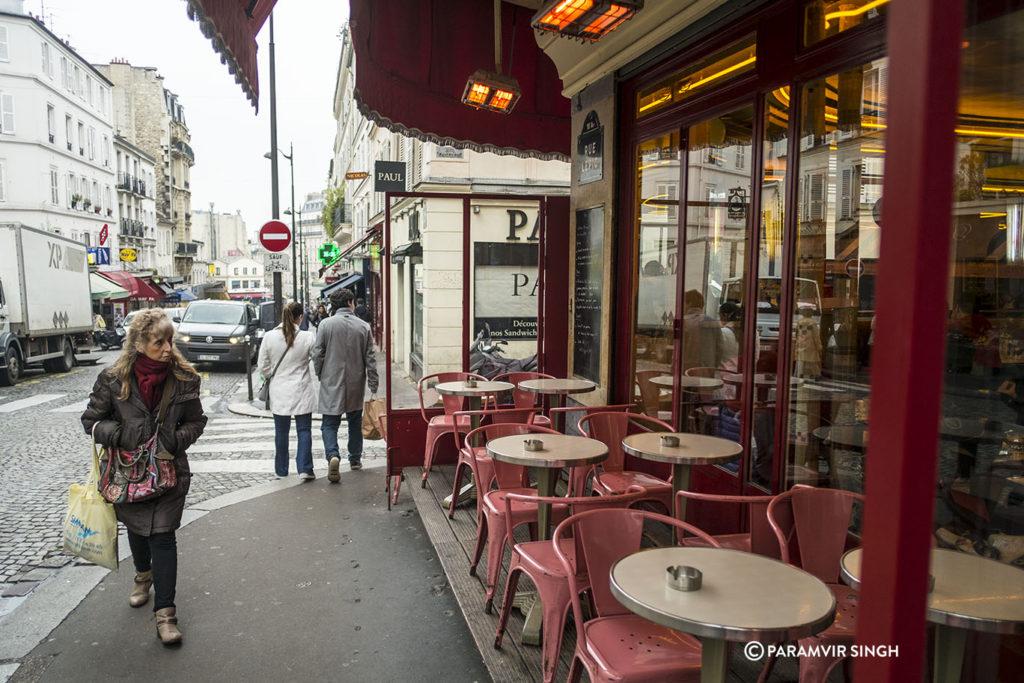 Cafes of Paris