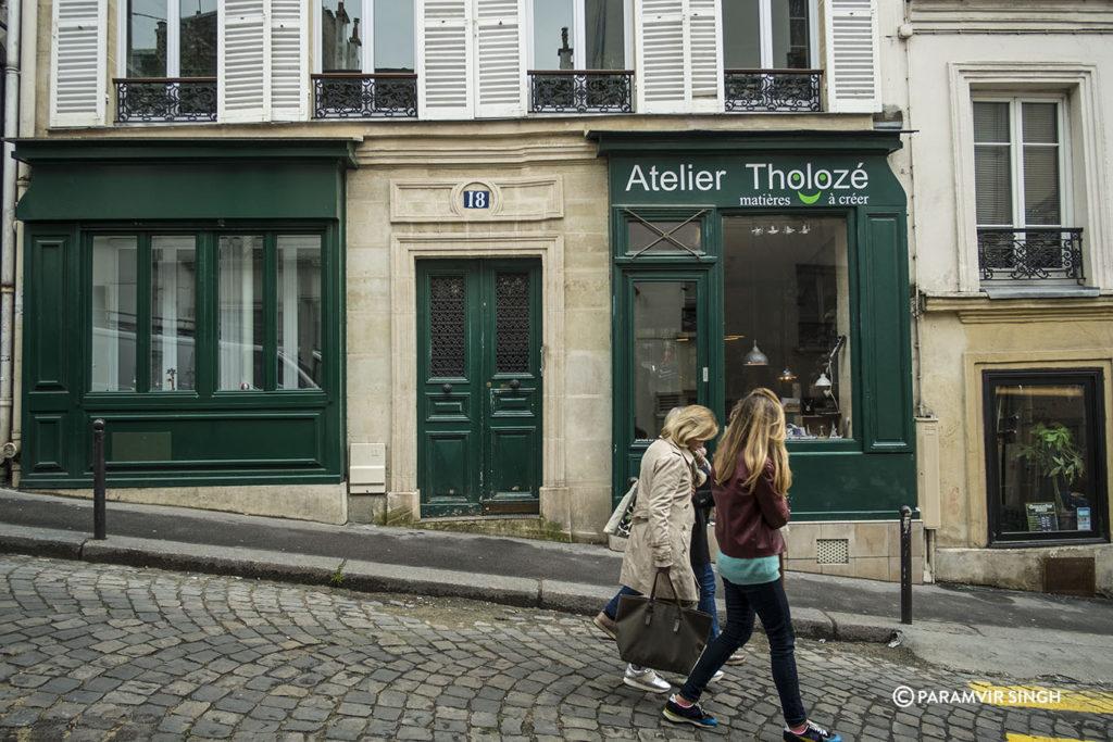 Rue Tholoze, Paris