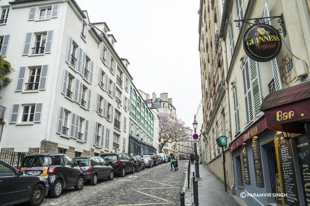 Admiring Paris