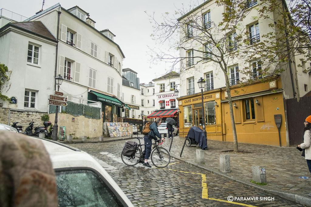 Walking up towards Montmartre