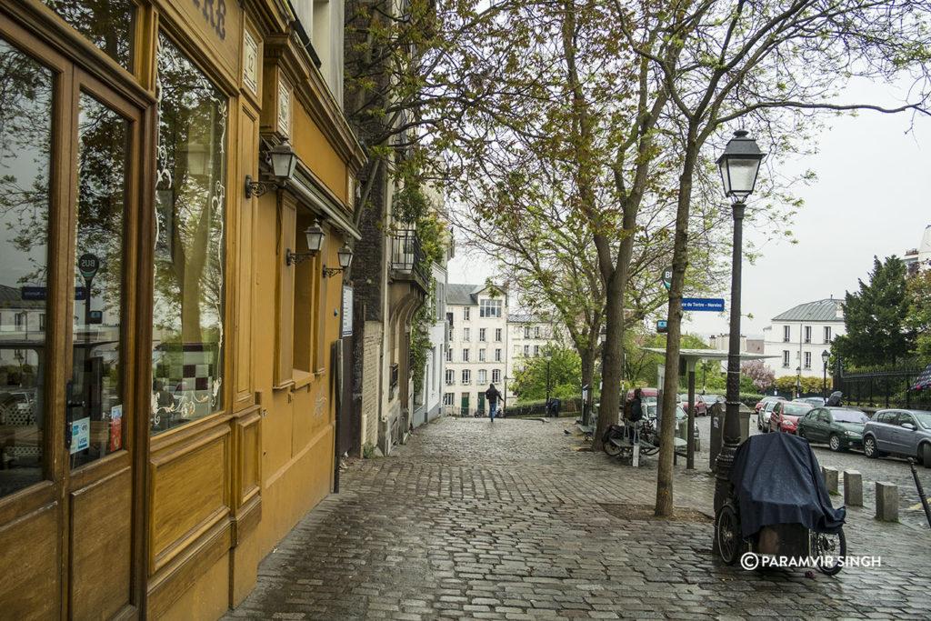 Shops in Montmartre, Paris