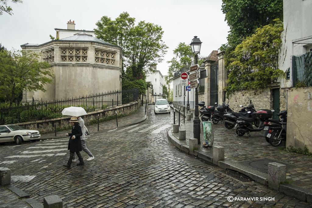 Walking towards Montmartre