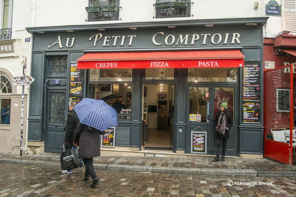 Shop front, Montmartre, Paris