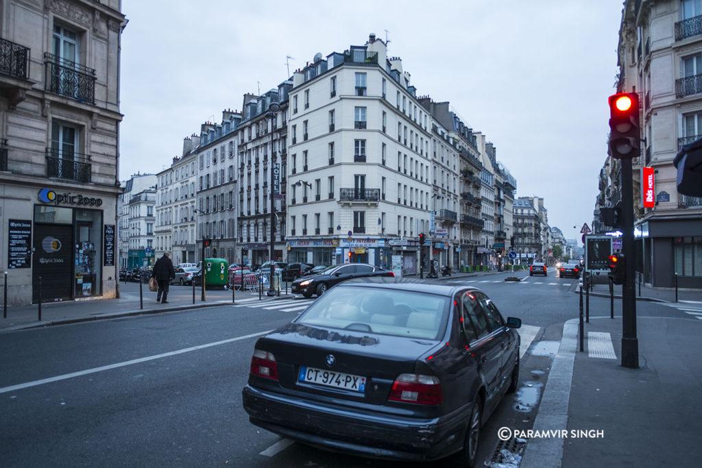 Leaving Paris made us sad...