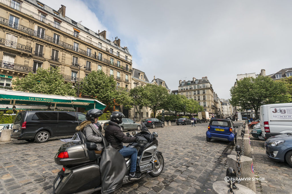 Two wheelers in Paris