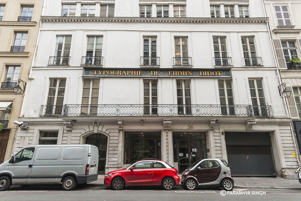 Typographie De Firmin Didot, Paris