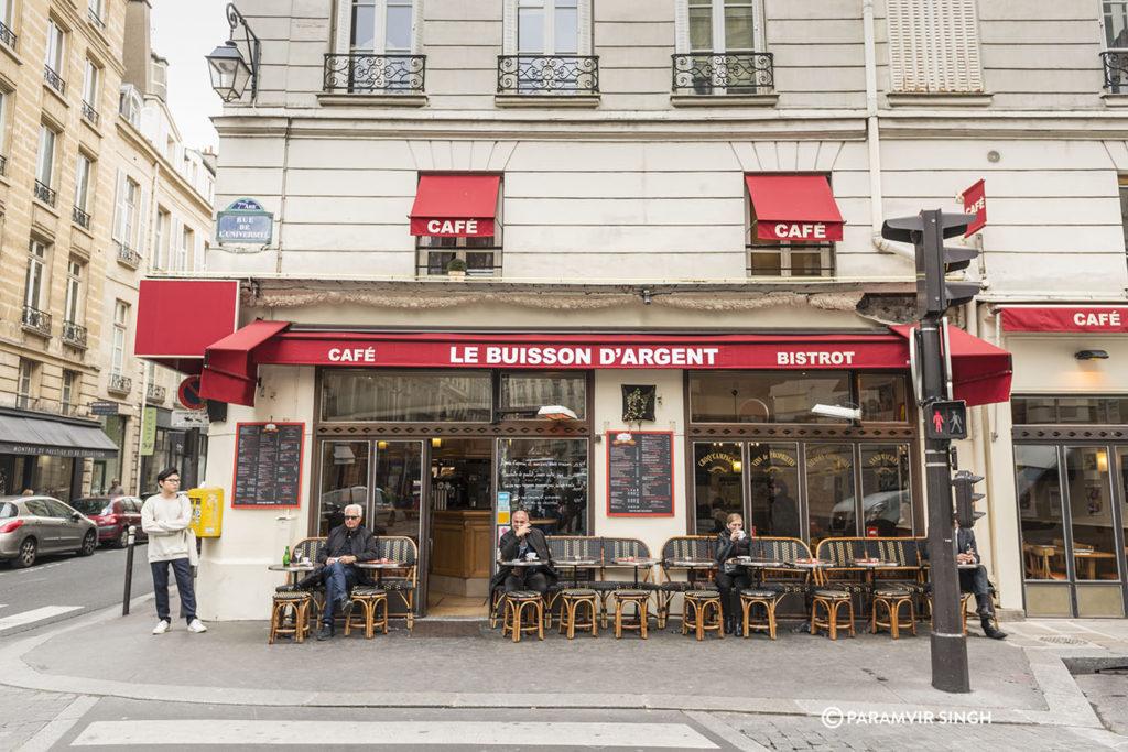 Cafe Le Buisson D'Argent in Paris