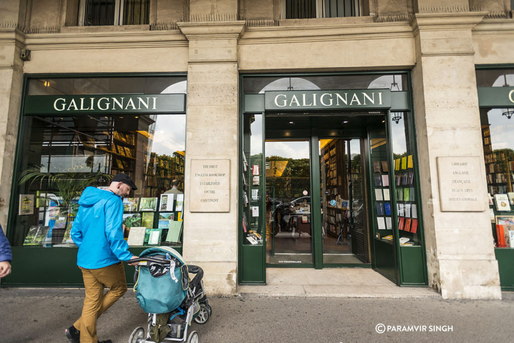 Gaglinani First English Bookshop established on the continent.