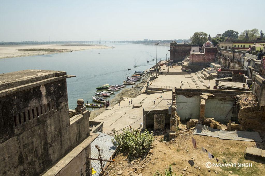 View of River Ganges in Benaras