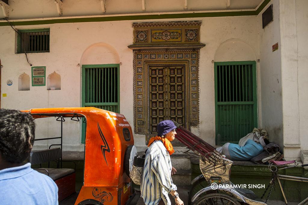 Gorgeous old door in Benaras