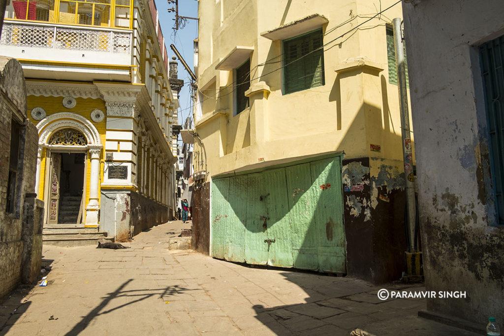 Old buildings of Benaras
