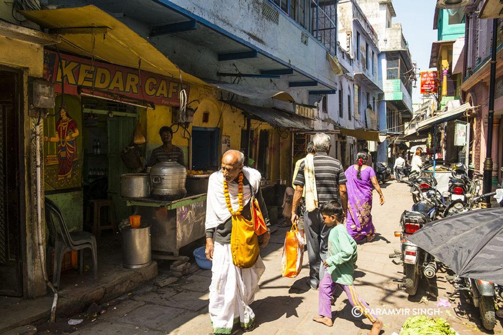 Lanes of Kedar Ghat, Benaras