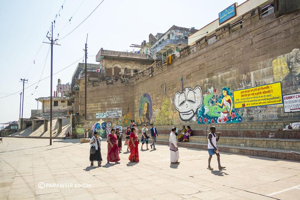 Graffiti in Benaras