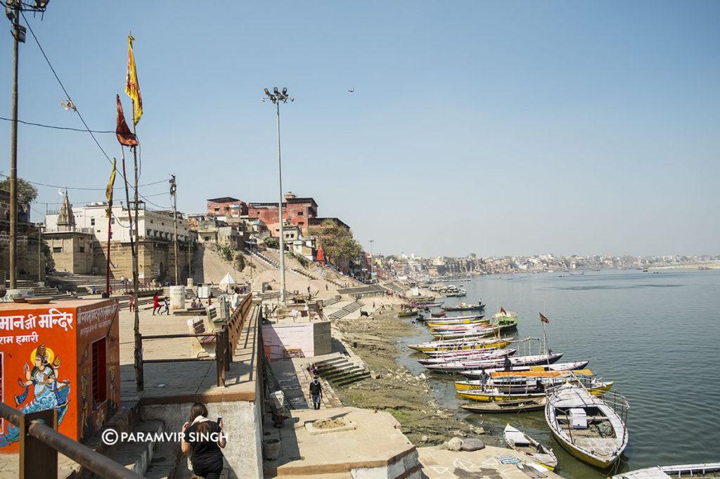 Boats in Benaras
