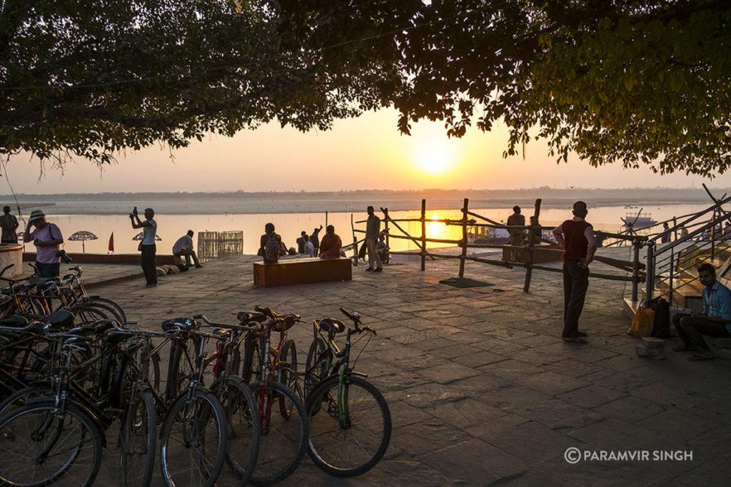 Morning at the Ghats in Benaras