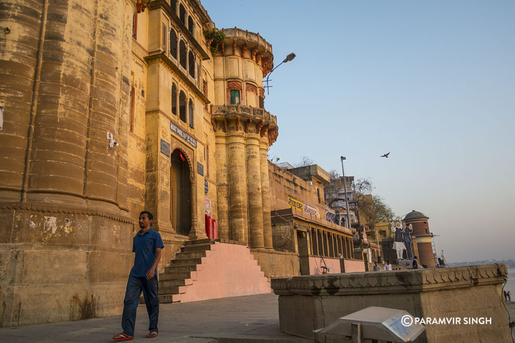 Architecture at the Benaras Ghats