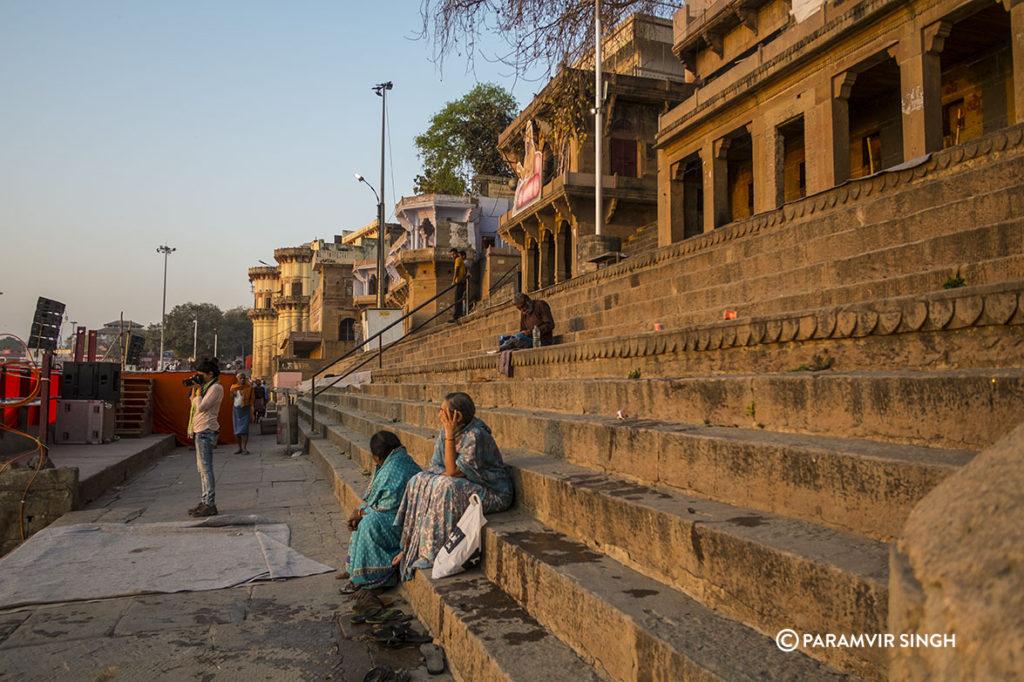 Morning at the Ghats of Benaras