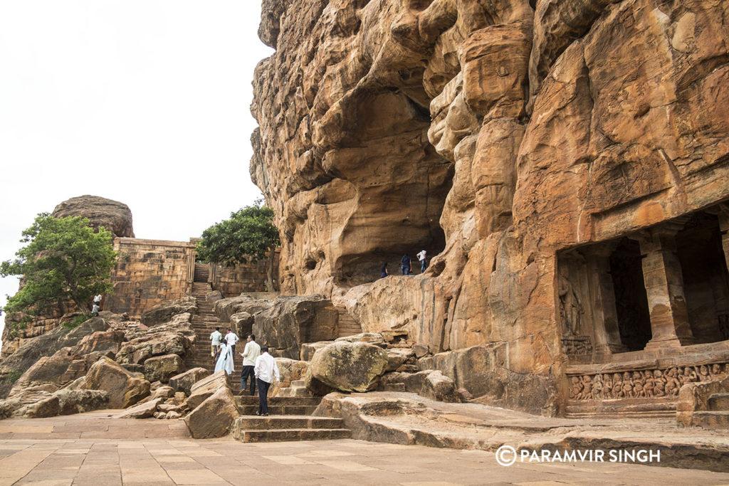 Badami Caves landing