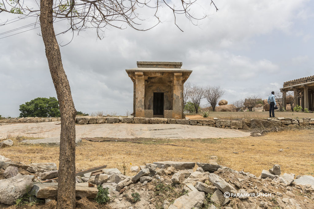 Small Temple at Hampi