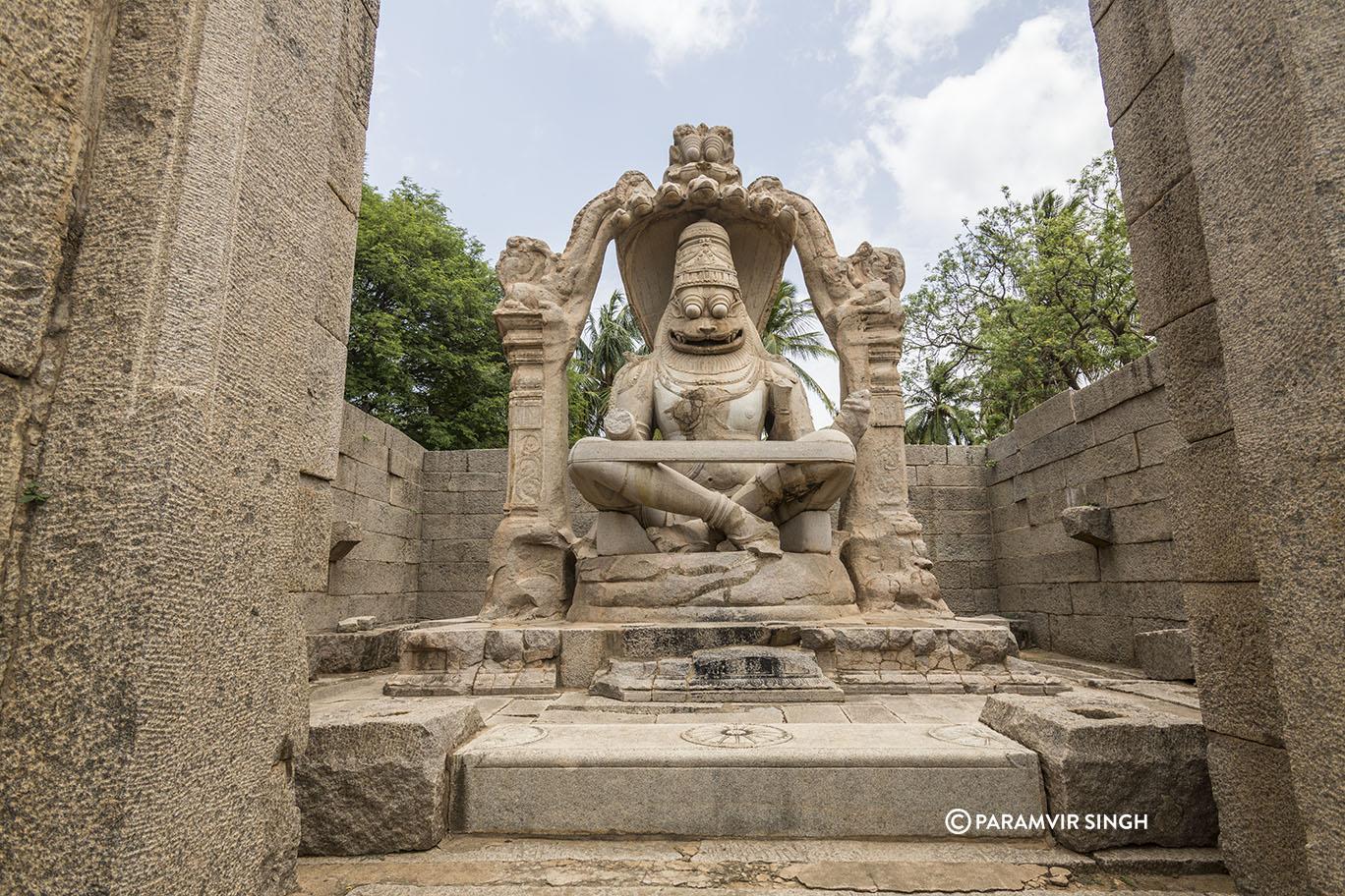 Narasimha at Hampi